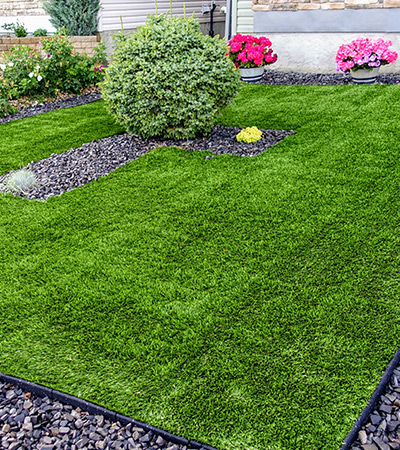 Residential Artificial Turf Cleaning